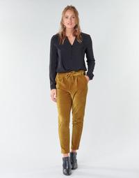 Oblačila Ženske Hlače Chino / Carrot Only ONLPOPTRASH Kamel