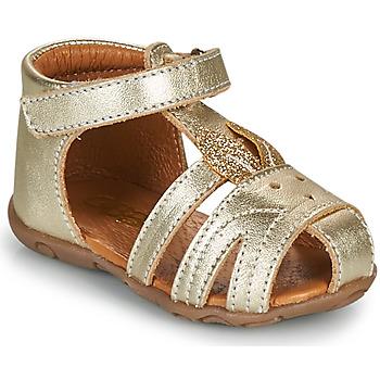 Čevlji  Deklice Sandali & Odprti čevlji GBB FADIA Crt / Zlata / Dpf / Zabou