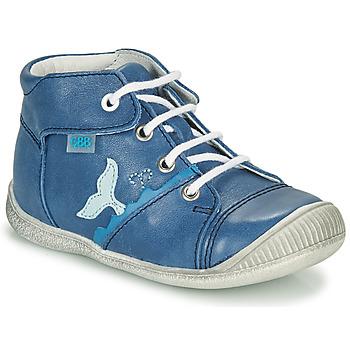 Čevlji  Dečki Visoke superge GBB ABRICO Modra