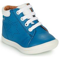 Čevlji  Dečki Visoke superge GBB BAMBOU Modra