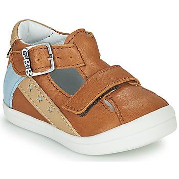 Čevlji  Dečki Sandali & Odprti čevlji GBB BERNOU Cognac