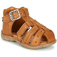 Čevlji  Dečki Sandali & Odprti čevlji GBB ARIGO Cognac