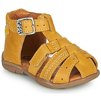 Čevlji  Dečki Sandali & Odprti čevlji GBB ARIGO Rumena