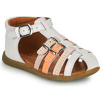 Čevlji  Deklice Sandali & Odprti čevlji GBB PERLE Bela