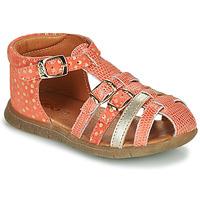 Čevlji  Deklice Sandali & Odprti čevlji GBB PERLE Koralna / Pozlačena