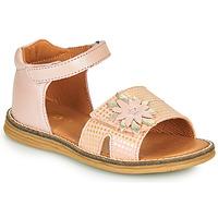 Čevlji  Deklice Sandali & Odprti čevlji GBB SATIA Vtc / Rožnata / Dpf / Vipera