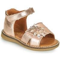 Čevlji  Deklice Sandali & Odprti čevlji GBB SATIA Rožnata / Zlata