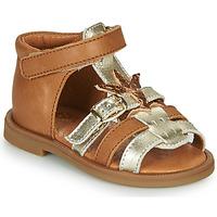 Čevlji  Deklice Sandali & Odprti čevlji GBB CARETTE Kostanjeva