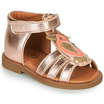 Čevlji  Deklice Sandali & Odprti čevlji GBB FRANIA Rožnata / Zlata