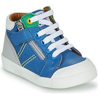 Čevlji  Dečki Visoke superge GBB ANATOLE Modra