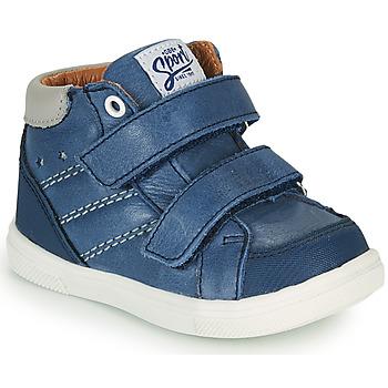 Čevlji  Dečki Visoke superge GBB MORISO Modra
