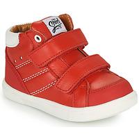 Čevlji  Dečki Visoke superge GBB MORISO Rdeča