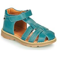 Čevlji  Dečki Sandali & Odprti čevlji GBB MITRI VTE BLEU CANARD DPF/TRONY