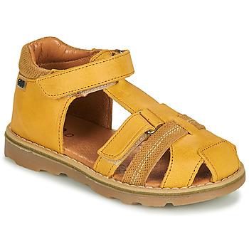 Čevlji  Dečki Sandali & Odprti čevlji GBB MITRI Rumena