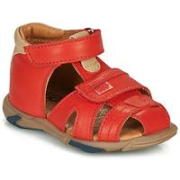 Čevlji  Dečki Sandali & Odprti čevlji GBB NUVIO Rdeča