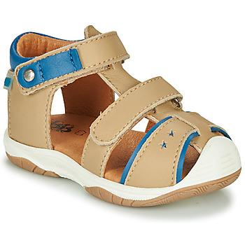 Čevlji  Dečki Sandali & Odprti čevlji GBB EUZAK Bež