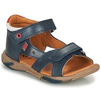 Čevlji  Dečki Sandali & Odprti čevlji GBB OBELO Modra