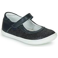 Čevlji  Deklice Balerinke GBB PLACIDA Modra