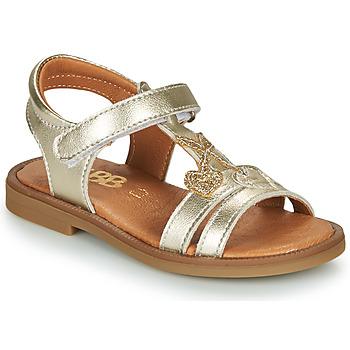 Čevlji  Deklice Sandali & Odprti čevlji GBB MURIA Pozlačena