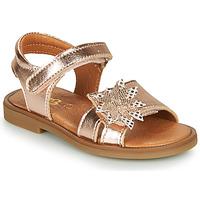 Čevlji  Deklice Sandali & Odprti čevlji GBB UPPLA Rožnata / Zlata