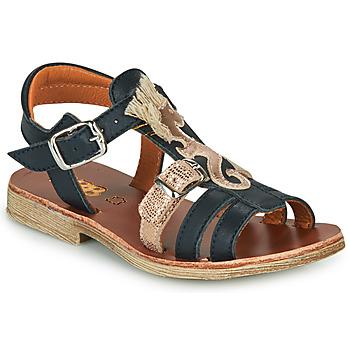 Čevlji  Deklice Sandali & Odprti čevlji GBB PALOMA Modra