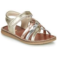 Čevlji  Deklice Sandali & Odprti čevlji GBB SUMY Pozlačena