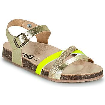 Čevlji  Deklice Sandali & Odprti čevlji GBB LULUNE Pozlačena