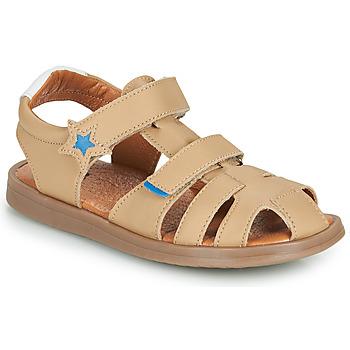 Čevlji  Dečki Sandali & Odprti čevlji GBB MARINO Bež