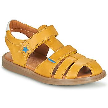 Čevlji  Dečki Sandali & Odprti čevlji GBB MARINO Rumena