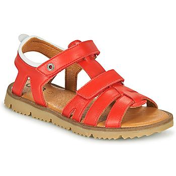 Čevlji  Dečki Sandali & Odprti čevlji GBB JULIO Rdeča