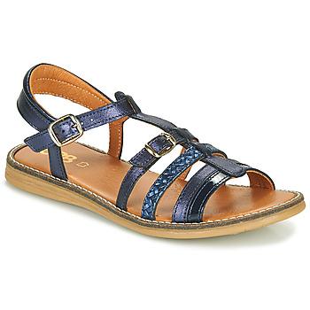 Čevlji  Deklice Sandali & Odprti čevlji GBB OLALA Modra