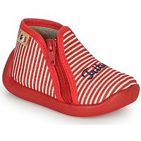 Čevlji  Deklice Nogavice GBB APOLA Rdeča