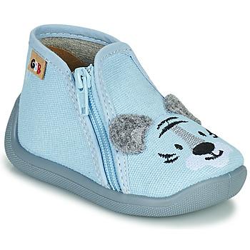 Čevlji  Deklice Nogavice GBB APOMO Modra