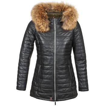 Oblačila Ženske Puhovke Oakwood 61679 Črna