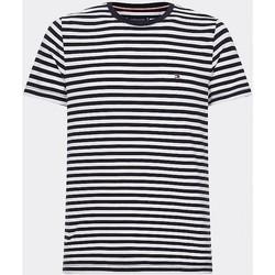 Oblačila Moški Majice s kratkimi rokavi Tommy Hilfiger MW0MW14566 Blu