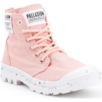 Čevlji  Ženske Visoke superge Palladium HI Organic W 96199-647-M pink