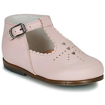 Čevlji  Deklice Balerinke Little Mary FLORIANE Rožnata