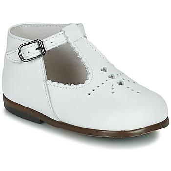 Čevlji  Deklice Balerinke Little Mary FLORIANE Bela