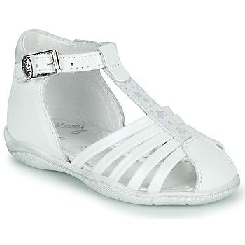 Čevlji  Deklice Sandali & Odprti čevlji Little Mary VOLGA Bela