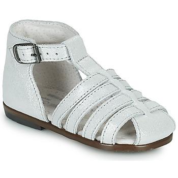 Čevlji  Deklice Sandali & Odprti čevlji Little Mary JULES Srebrna