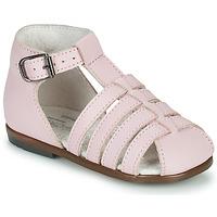 Čevlji  Deklice Sandali & Odprti čevlji Little Mary JULES Rožnata