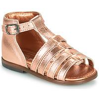Čevlji  Deklice Sandali & Odprti čevlji Little Mary HOSMOSE Rožnata