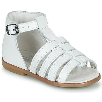 Čevlji  Deklice Sandali & Odprti čevlji Little Mary HOSMOSE Bela
