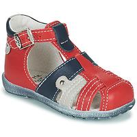 Čevlji  Dečki Sandali & Odprti čevlji Little Mary VERCORS Rdeča