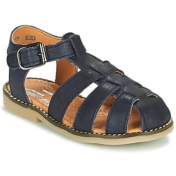 Čevlji  Dečki Sandali & Odprti čevlji Little Mary BREHAT Modra