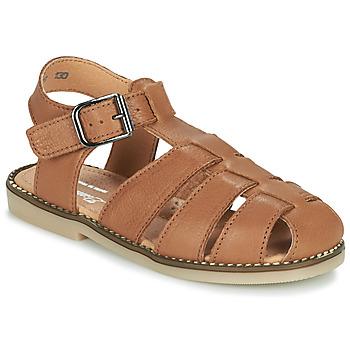 Čevlji  Dečki Sandali & Odprti čevlji Little Mary BREHAT Kostanjeva