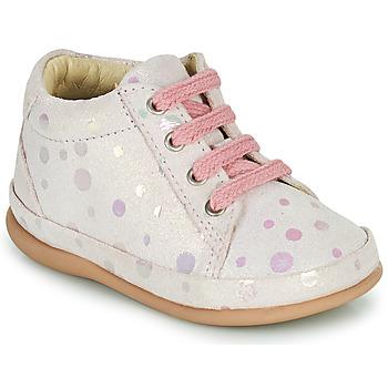 Čevlji  Deklice Visoke superge Little Mary GAMBARDE Rožnata