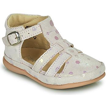 Čevlji  Otroci Balerinke Little Mary LAIBA Rožnata