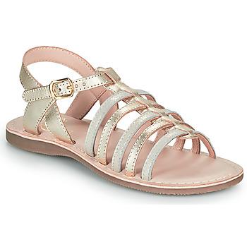 Čevlji  Deklice Sandali & Odprti čevlji Little Mary BARBADE Pozlačena