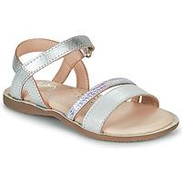 Čevlji  Deklice Sandali & Odprti čevlji Little Mary DOLERON Srebrna